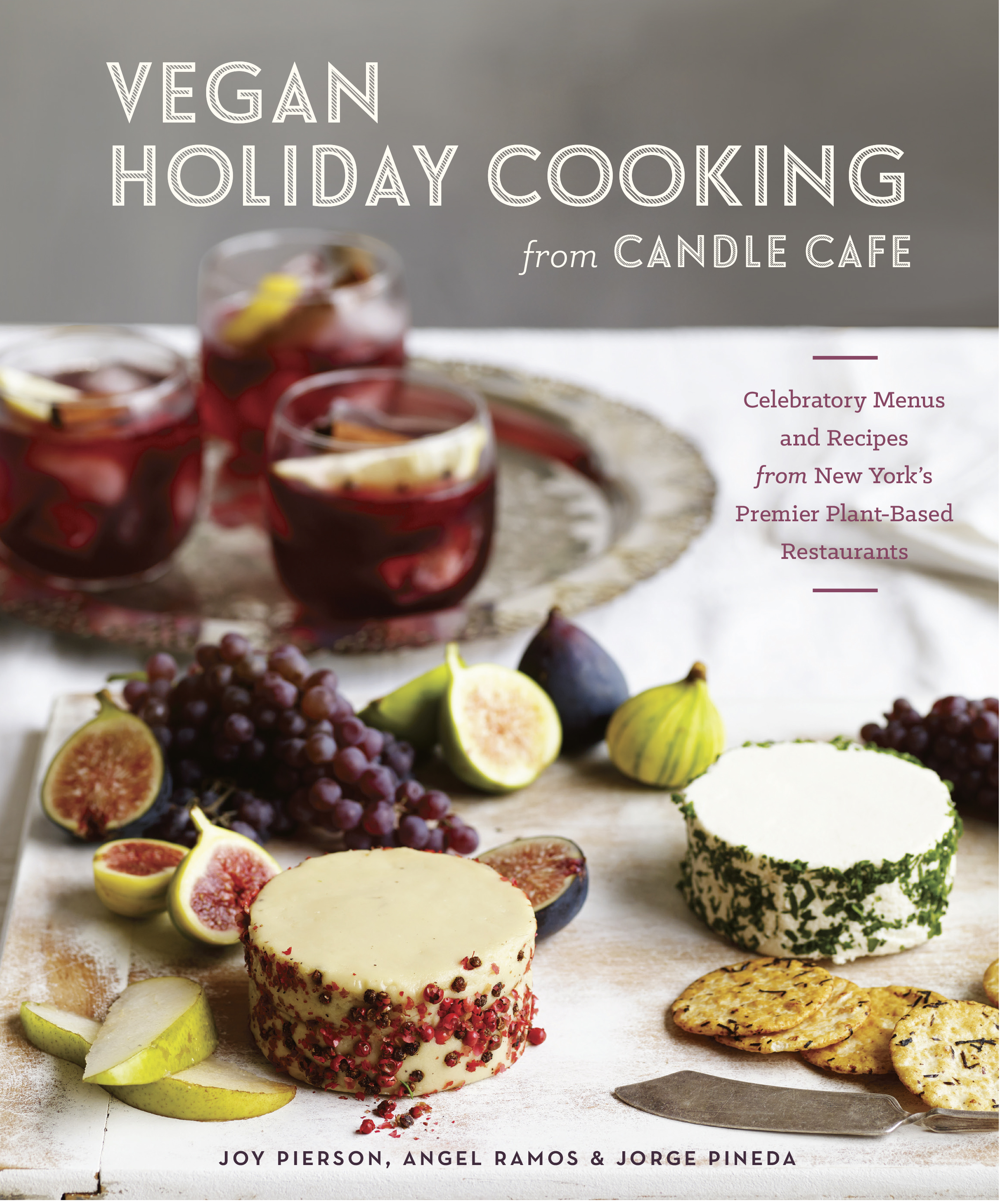 candle cafe vegan holiday cookbook