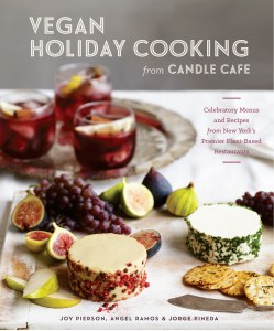 candle cafe vegan holiday cookbook