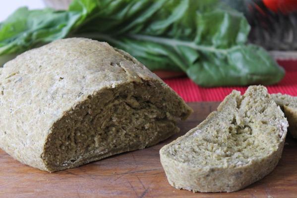 Green Kale Bread Recipe