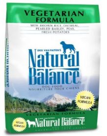 Natural Balance vegan dog food