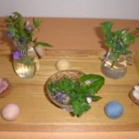 草心流のお花の教室 3月