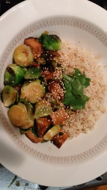 Brussels sprouts & Tofu