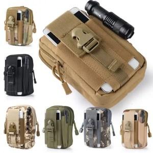 5.5/6 inch Tactical Waist Bag for men