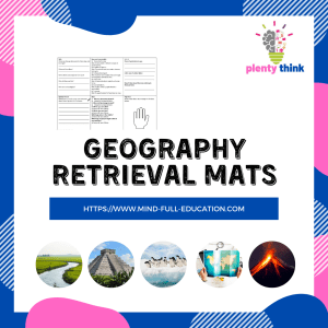 Y1-6 Geography Retrieval Mats