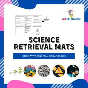 Y6 Science Retrieval Mats