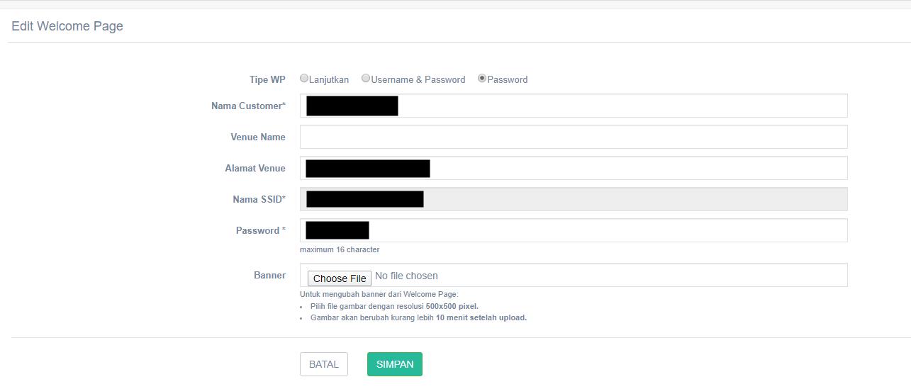 mengganti halaman login wms wifi id
