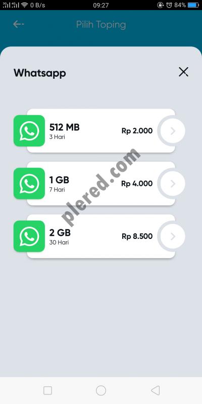 topping whatsapp