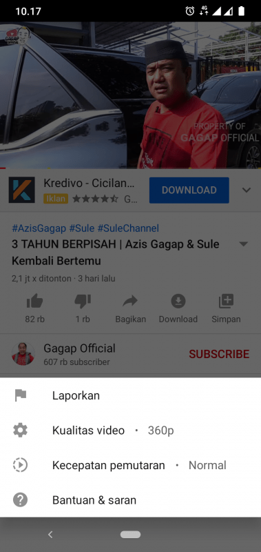 tes streaming youtube by u