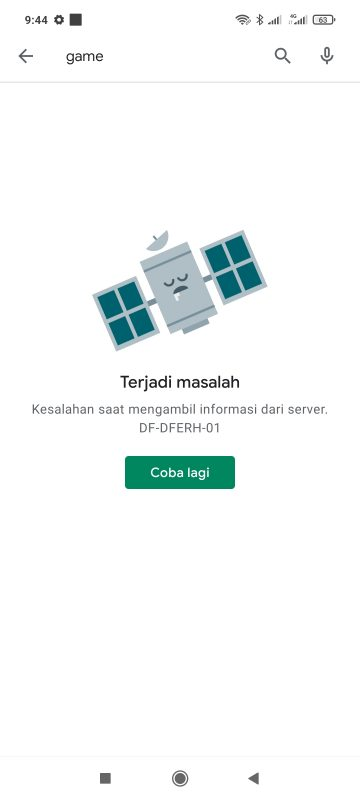 google play error