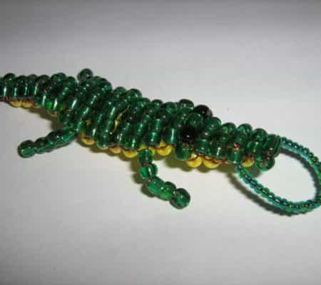 Схема плетения браслета из бисера для начинающих