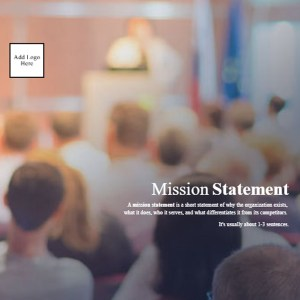 Plexie Mission Statement Template