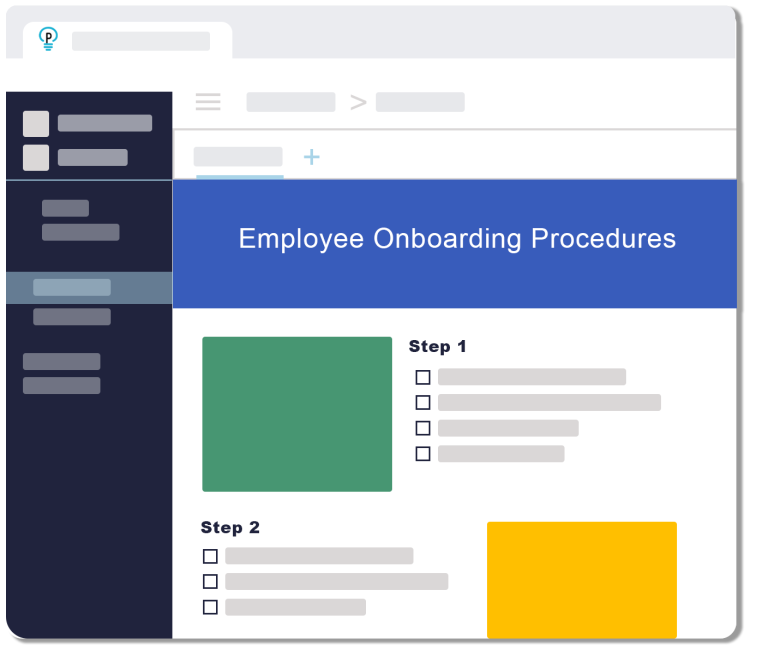 Plexie Process Documentation Templates Employee Onboarding Procedures
