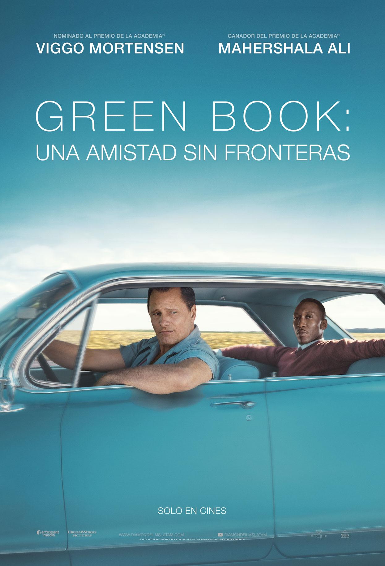 Póster en español de Green Book (2018). Imagen: diamondfilms.com