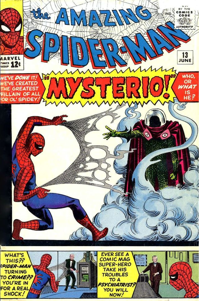 Portada de The Amazing Spider-Man #13 (junio de 1964). Imagen: pinterest.com