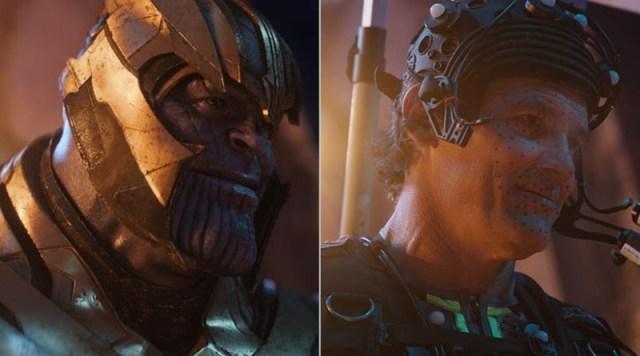 Josh Brolin como Thanos en Avengers: Infinity War (2018). Imagen: cgrecord.net