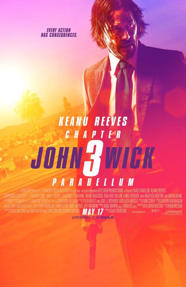 Póster IMAX de John Wick: Chapter 3 – Parabellum (2019). Imagen: John Wick: Chapter 3 - Parabellum Twitter (@JohnWickMovie).