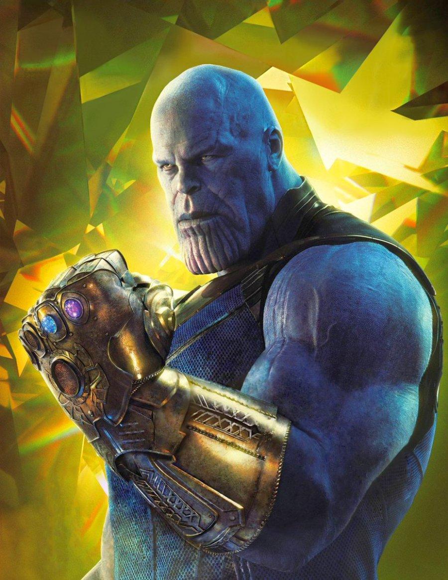 Thanos (Josh Brolin) y el Guantelete Infinito en Avengers: Infinity War (2018). Imagen: Latest News Explorer