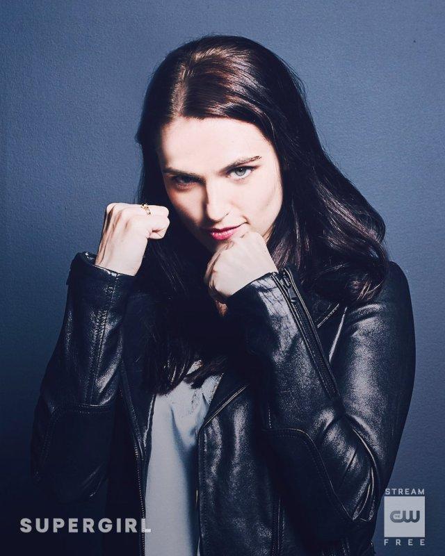 Katie McGrath es Lena Luthor en la temporada 4 de Supergirl. Imagen: Supergirl Twitter (@TheCWSupergirl).