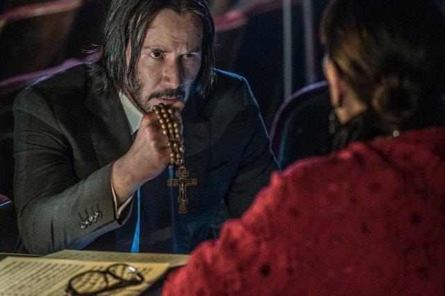 "John Wick (Keanu Reeves), conocido como ""Baba Yaga"", regresa en John Wick 3: Parabellum (2019). Imagen: John Wick: Chapter 3 Twitter (@JohnWickMovie)."