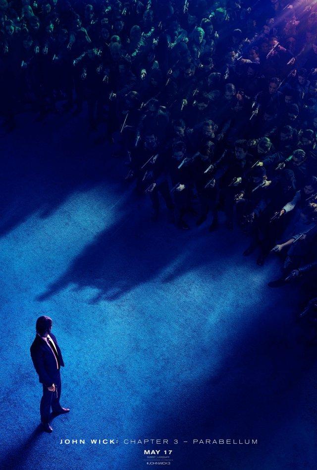 Póster de John Wick: Chapter 3 - Parabellum (2019). Imagen: John Wick: Chapter 3 - Parabellum Twitter (@JohnWickMovie).