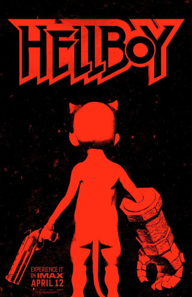 Póster IMAX de Hellboy (2019). Imagen: Flickering Myth