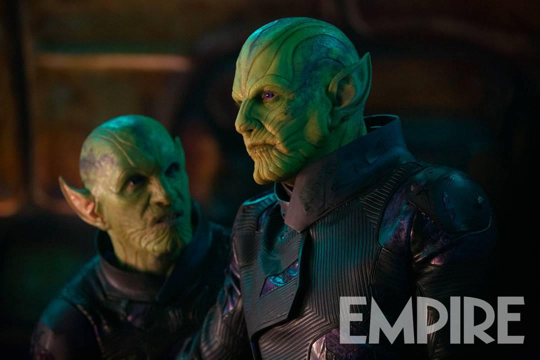 Talos (Ben Mendelsohn) es uno de los Skrulls en Captain Marvel (2019). Imagen: Empire Magazine