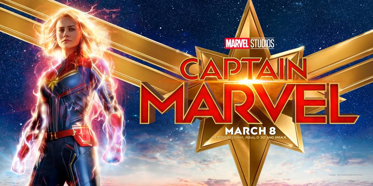 Póster de Captain Marvel (2019). Imagen: impawards.com