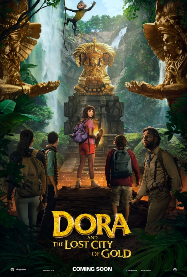 Póster de Dora and the Lost City of Gold (2019). Imagen: impawards.com