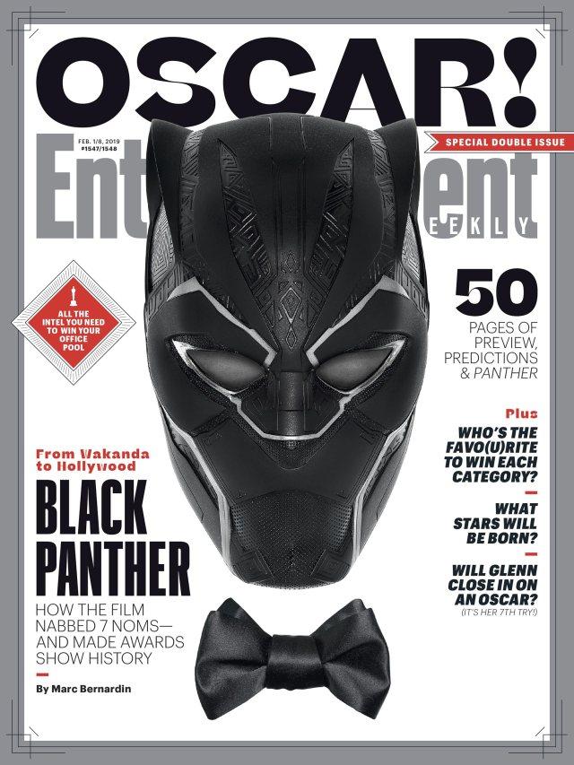 Portada de Entertainment Weekly #1547-1548 (1-8 de febrero de 2019). Imagen: Entertainment Weekly