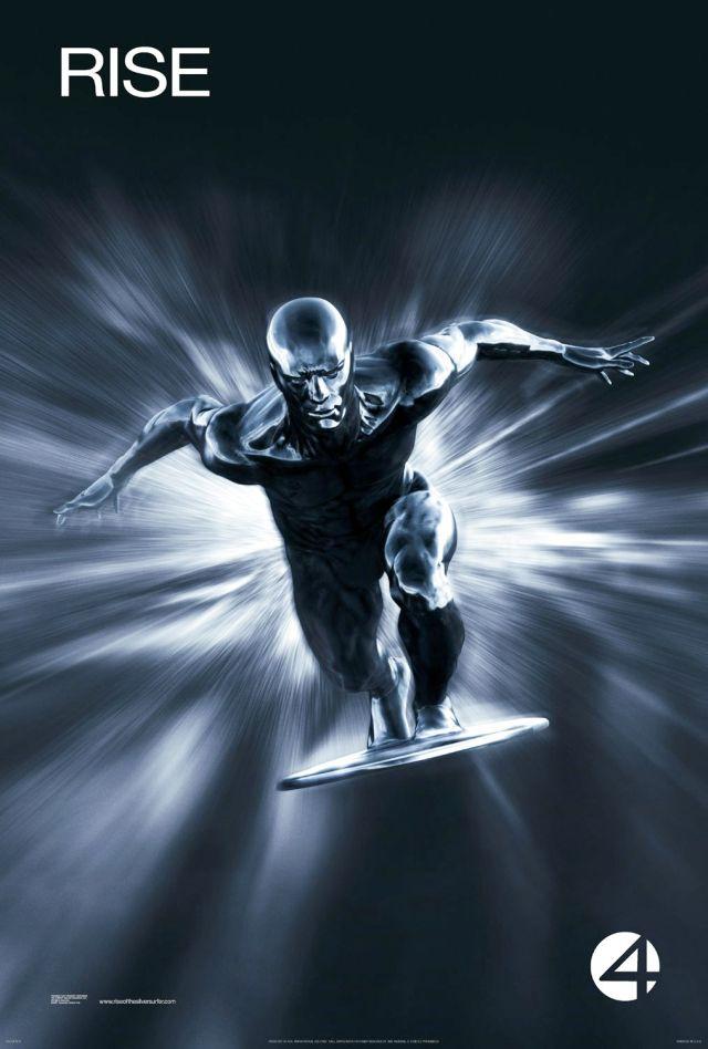 Póster de Fantastic Four: Rise of the Silver Surfer (2007). Imagen: impawards.com