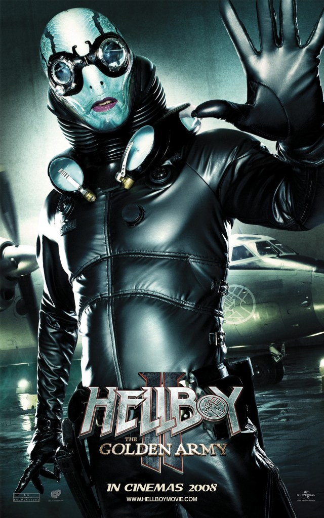 Póster de Hellboy II: The Golden Army (2008). Imagen: impawards.com