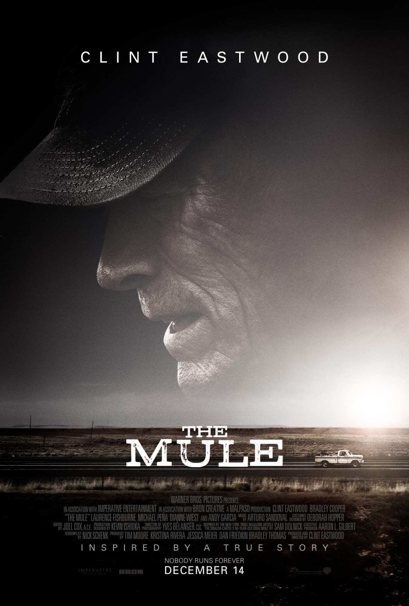 Póster de de The Mule (2018). Imagen: impawards.com