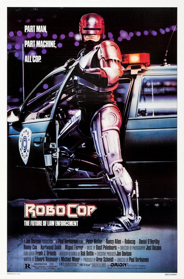 Póster de RoboCop (1987). Imagen: impawards.com