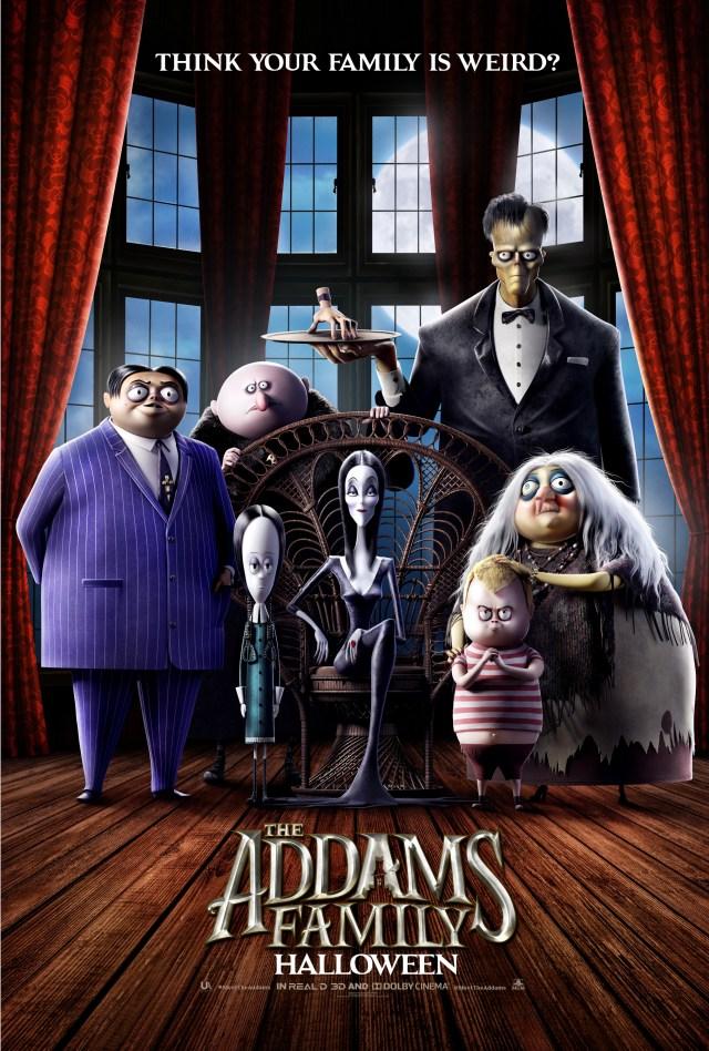 Póster de The Addams Family (2019). Imagen: impawards.com
