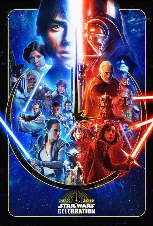 Póster de Star Wars Celebration 2019. Imagen: Star Wars.com