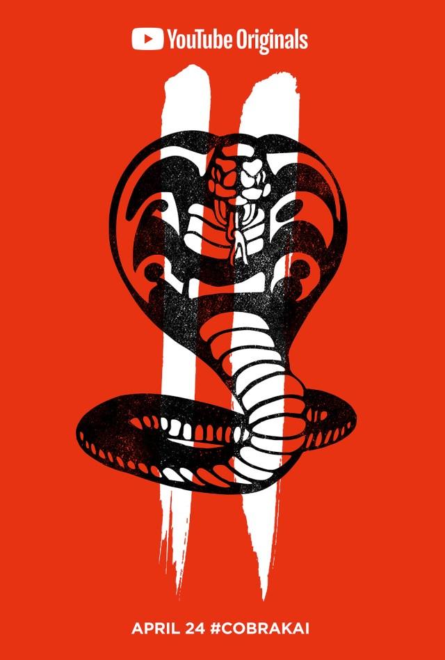 Póster de la temporada 2 de Cobra Kai. Imagen: impawards.com