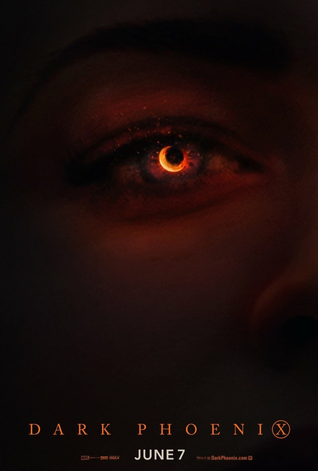 Póster de Dark Phoenix (2019). Imagen: impawards.com