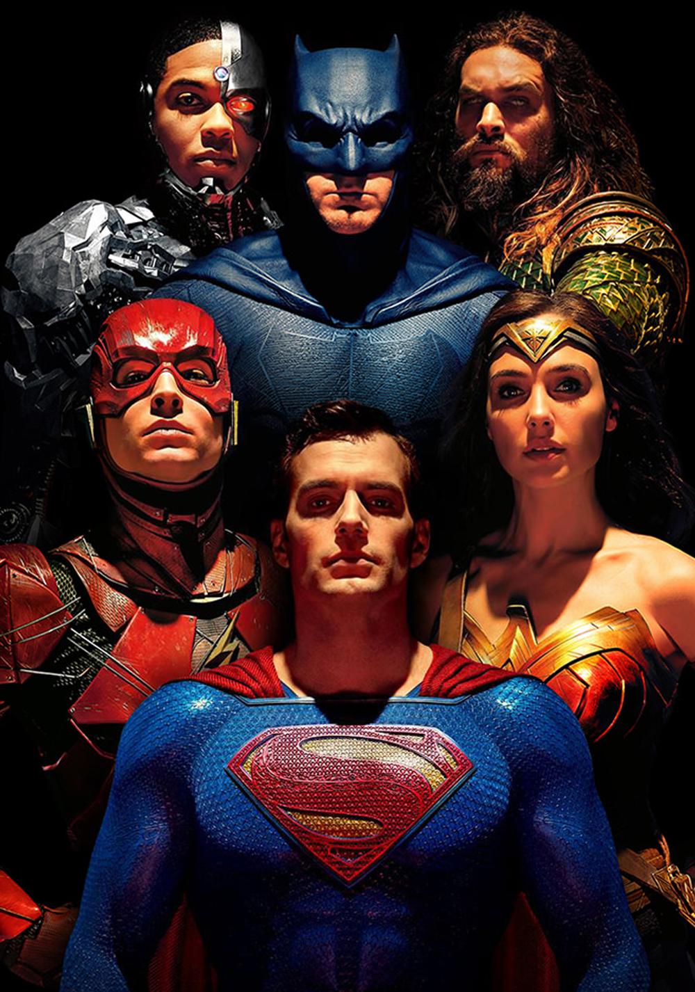 Superman (Henry Cavill) en Justice League (2017). Imagen: fanart.tv