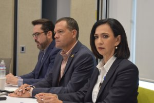 """""""Agenda Coparmex será permanente en mi gobierno"""": Eloísa Talavera"""