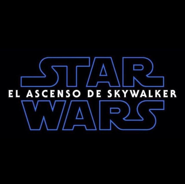El título en español de Star Wars: The Rise of Skywalker (2019). Imagen: Star Wars Latinoamérica Twitter (StarWarsLATAM).