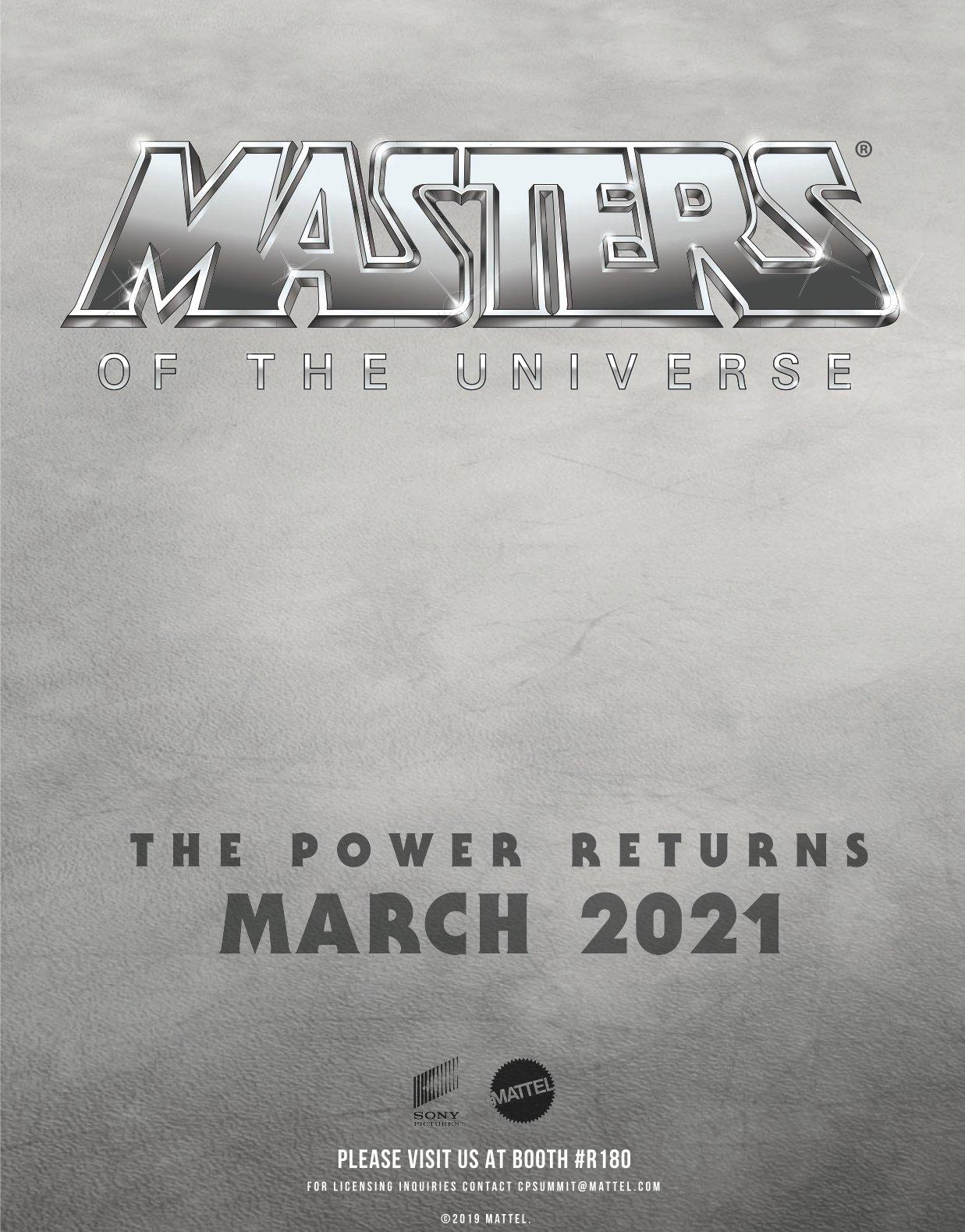 Póster de Masters of the Universe (2021). Imagen: Film Stories Twitter (@filmstoriespod).
