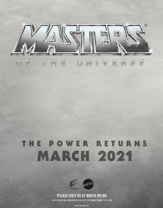 Póster de Masters of the Universe (2021). Imagen: Film Stories Twitter (@filmstoriespod).