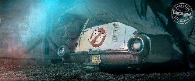 El ECTO-1 en el teaser de Ghostbusters (2020). Imagen: Entertainment Weekly