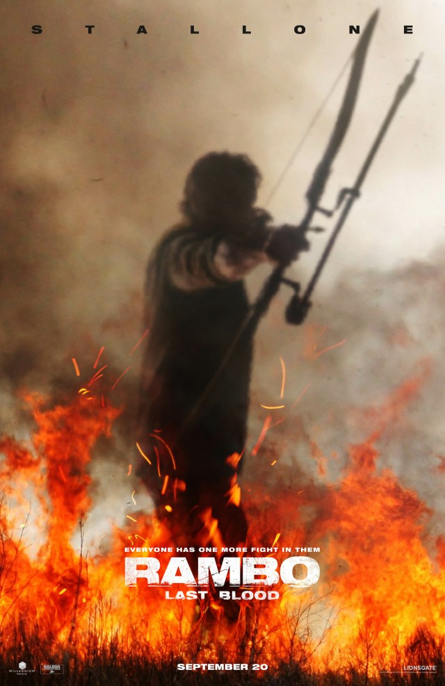 Póster de Rambo: The Last Blood (2019). Imagen: impawards.com