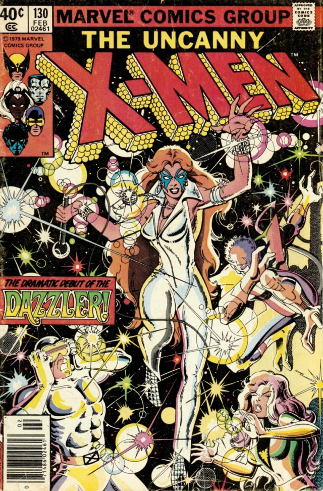 Dazzler en la portada de The Uncanny X-Men #130 (febrero de 1980). Imagen: Comic Vine