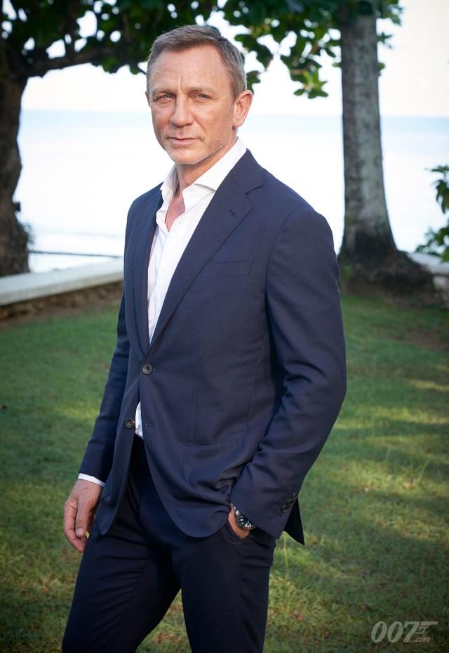 Bond 25 (2020) es la quinta película de Daniel Craig como el Agente 007. Imagen: 007.com