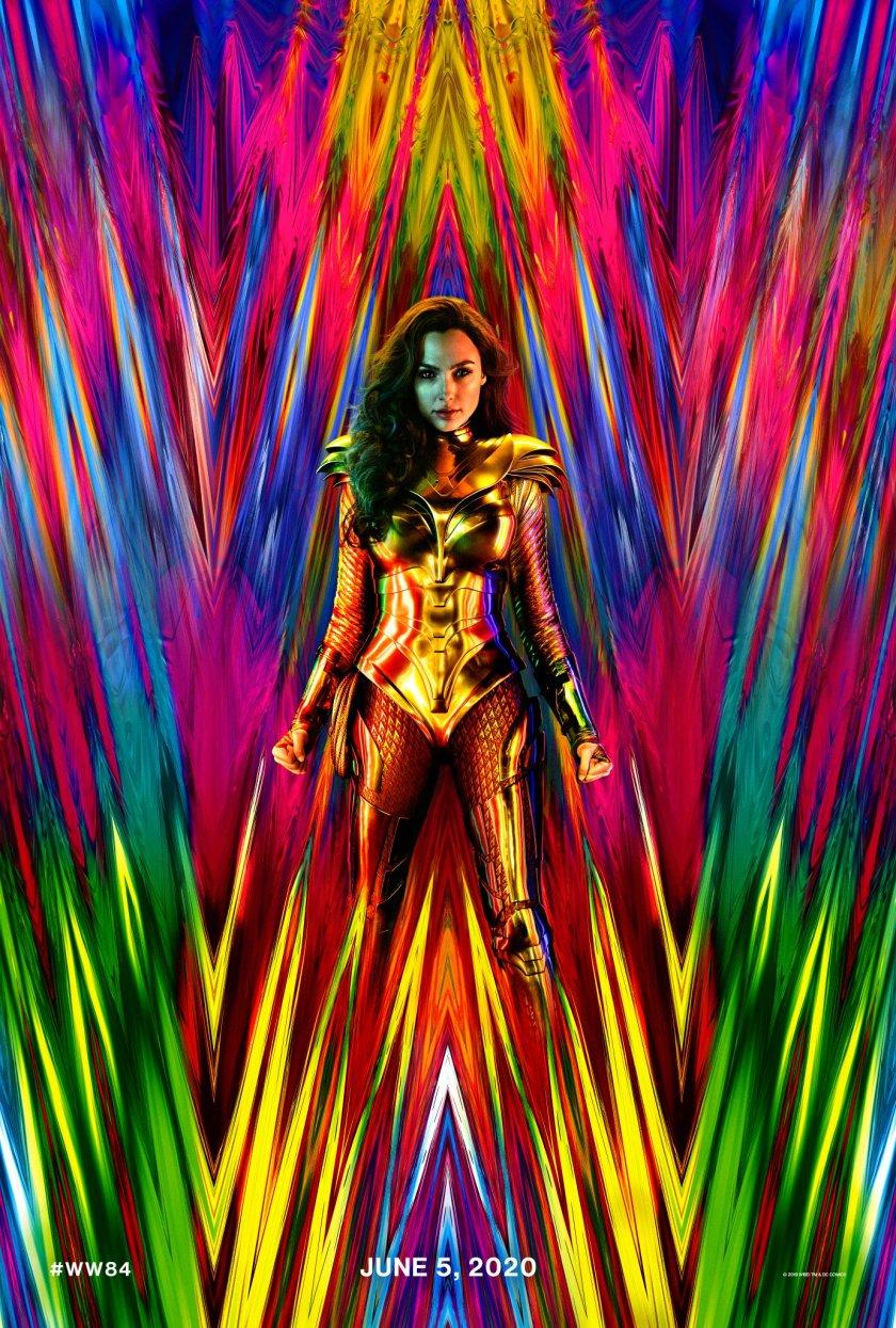 Póster de Wonder Woman 1984 (2020). Imagen: Patty Jenkins Twitter (@PattyJenks).