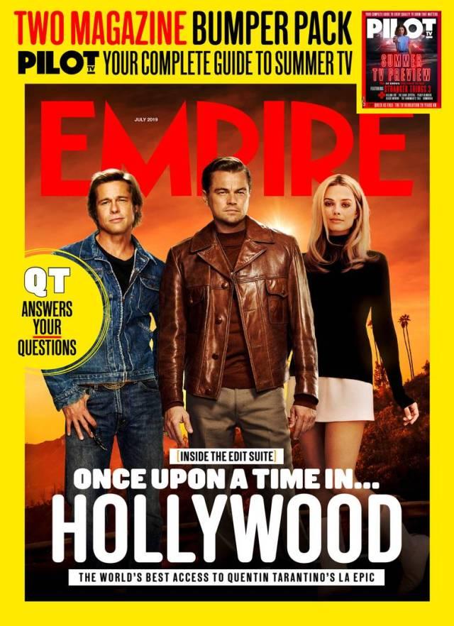 Portada de Empire (julio de 2019). Imagen: Empire Magazine