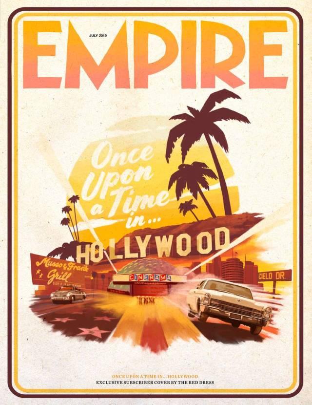 Portada exclusiva para subscriptores de Empire (julio de 2019). Imagen: Empire Magazine