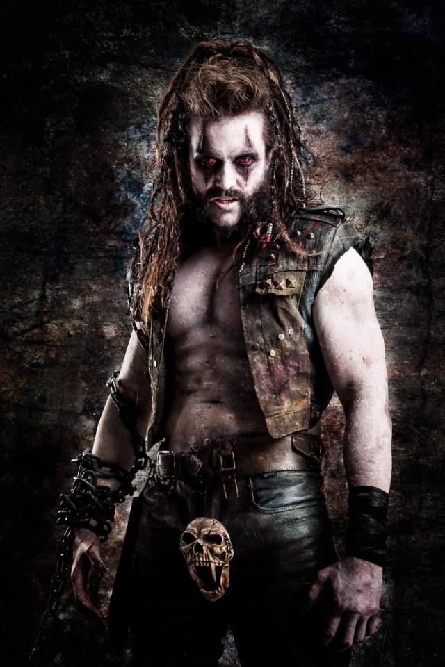 Emmett J. Scanlan como Lobo en la temporada 2 de Krypton. Imagen: dccomics.com